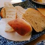 135349566 - コッペと食パン