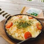 イベントカフェ 花瑠璃の風 - 料理写真:チーズリゾット。