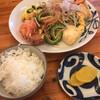 沖縄食堂 歩花 - 料理写真:ゴーヤーチャンプルー定食(これにお味噌汁がつく)
