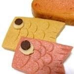 和楽紅屋 - ラスクとこいのぼり形のクッキー。かわいいね~