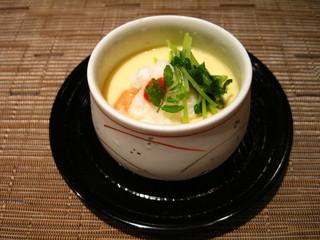 sushiなかの - 冷し茶碗蒸し