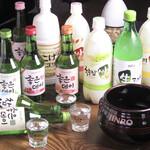 韓国風焼肉BBQ 暗証番号肉肉 - 人気のマッコリ★お食事もすすみます