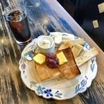 古瀬戸珈琲店 - 小倉トースト&アイスコーヒー