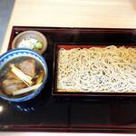 蕎麦と酒 ふく本 - 鴨セイロ
