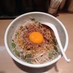 中華そば ます田 - 汁なし担々麺