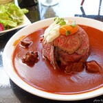 Steak&Wine Vabene - 2020年1月 ローストビーフストロガノフ丼【税抜1290円】