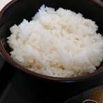 松乃家 - ご飯。