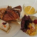 カフェ・ド・シナモニ - 料理写真:
