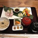 銀座 食医心方 - 薬膳みそミニ会席(税込み1980円)のメイン