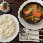 レストラン ユっぴー - ビーフシチューハーフセット