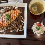 レストラン ユっぴー - 卵とろとろオムライスセット