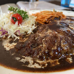 レストラン ユっぴー - ハンバーグ