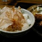 鮮魚 日本酒 えどわん - おかかご飯