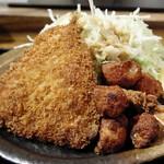 鮮魚 日本酒 えどわん - ミックスフライ膳