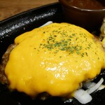 すてーき亭 - ハンバーグの王道!チーズハンバーグ