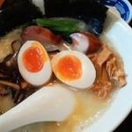 13537398 - 120620東京 SOULMEN魂麺 全部入れてみた