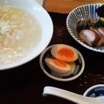 13537399 - 120620東京 SOULMEN魂麺 鶏白湯塩892円