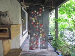 つるりんどう - ふたつ目の入口暖簾