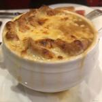Brasserie VIRON - オニオングラタンスープこれが食べたかったー!