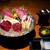 馬桜 - 料理写真:美しい「特選馬刺し盛り(6種)」。