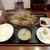 まるた食堂 - 料理写真:天空牛ミックス鉄板焼き定食¥1,300