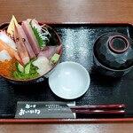 丼の店 おいかわ - 宮古海鮮丼 全景