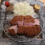 きんとん - ■極上芳寿豚のロースカツ御膳