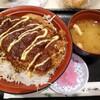 めし処 甲州亭 - 料理写真:甲州味噌かつ丼ver2
