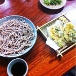 13539118 - もりそばと山菜天ぷら