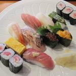 13539128 - 握り一幸膳 寿司盛合せ