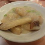 茶平 - ホタテとエリンギのクリーム煮