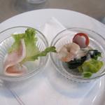 アンリ・ファーブル - ランチ・前菜