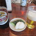 瀧乃家 - ビール