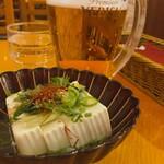 ビヤホールライオン - ♦︎エビス大  ¥1,089 ♦︎ねぎ塩豆腐 ¥528