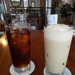 135396742 - 今日の紅茶ICEとアイスロイヤルミルクティー