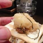 135399499 - 蕎麦屋風温製ポテトサラダ:カナッペ風に