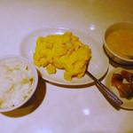 Ryuukarou - 小貝柱と玉子炒めのランチ