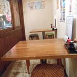 ヤマタイチ - テーブル席のあります