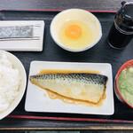 資さんうどん - 朝定食(魚の煮付け)=510円 税込