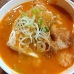 めん屋 桔梗 - 牛スジ豆腐