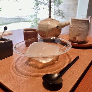 ゼンカフェ - 特製くずもち 単品 800円 セット 1500円