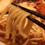 karakuchinikusobahirudora - 麺を引っ張り出す