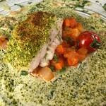 135406094 - 【ランチ】本日の鮮魚〜カジキの香草パン粉焼き                       2020/08/24訪問