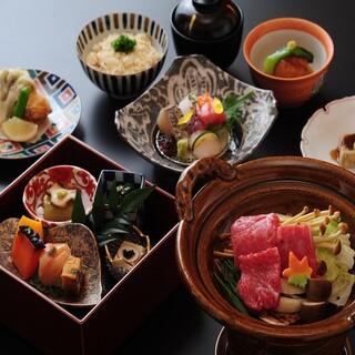 【期間限定】冬に嬉しい小鍋を楽しめる懐石コース5,000円~