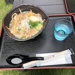 道の駅 さかい - 料理写真:バラ肉沖縄そば