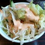 ジェイマータ - ジェイ マータ @中葛西 カレーセットに付くサラダ