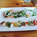 13541742 - 前菜とサラダ(お昼のコース)