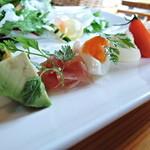 13541772 - 前菜とサラダ(お昼のコース)アップ2