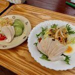 ティハール - 鶏ハムサラダ・結サラダ