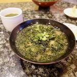 西伊豆の回転ずし 伊豆ととや - 海苔汁 180円